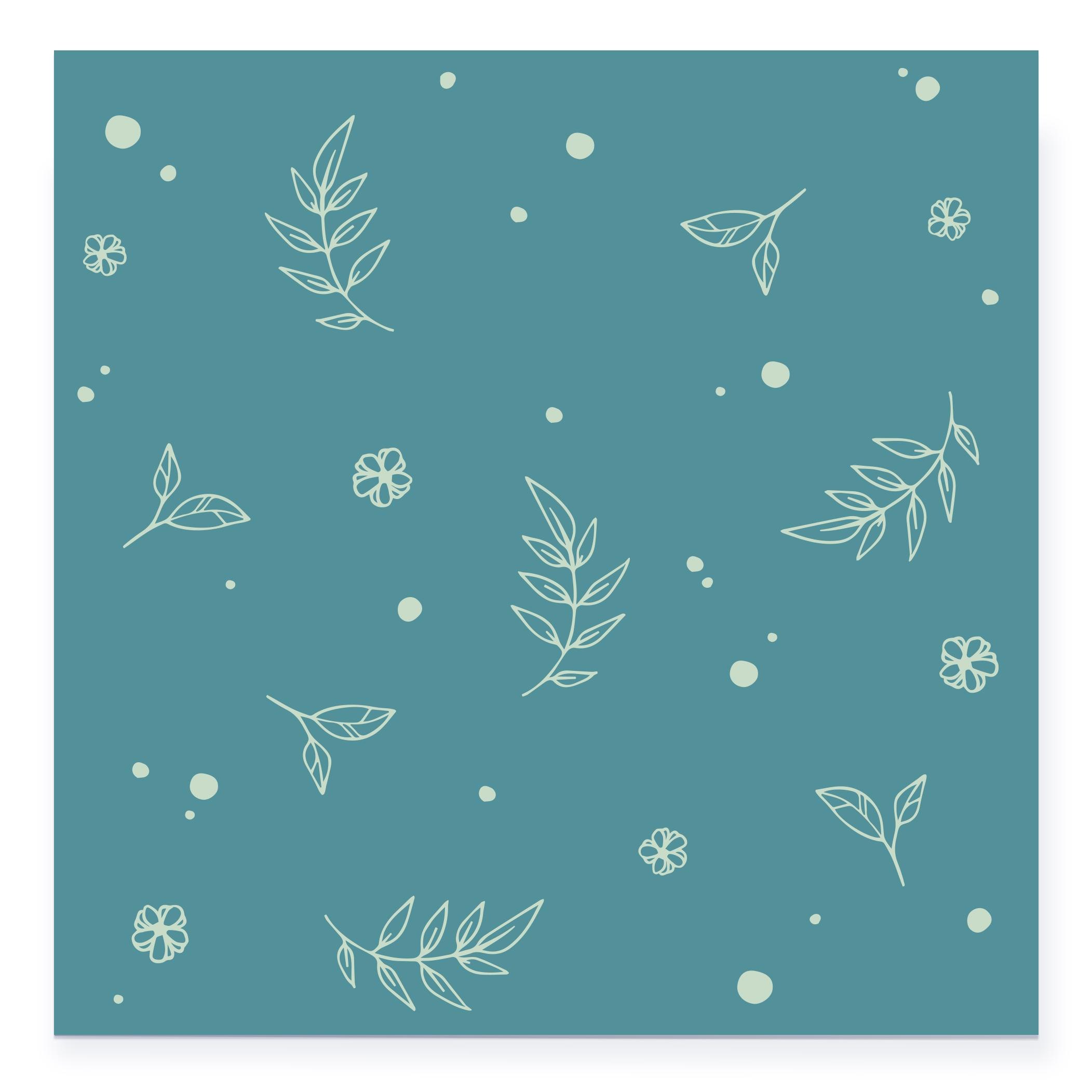 card_floral_vert